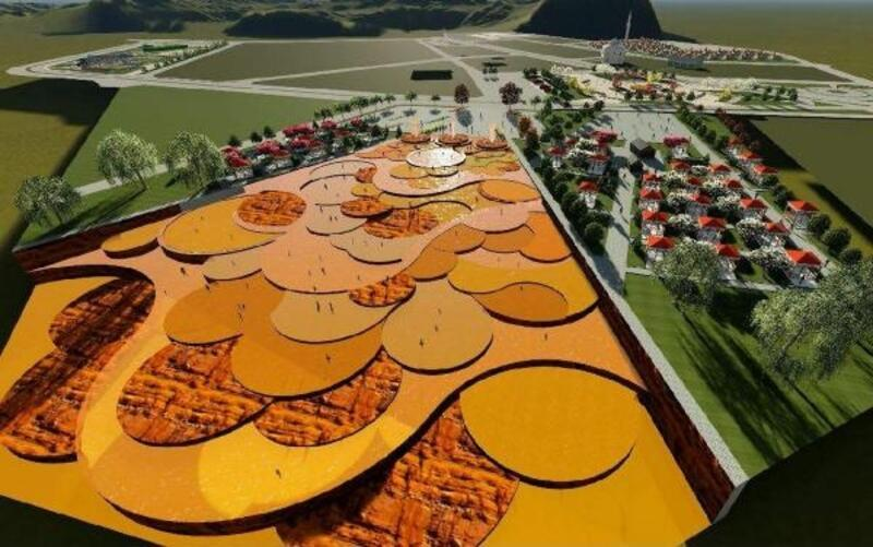 Sıcak Çermik'te Altınkale ve çadır projesi başladı