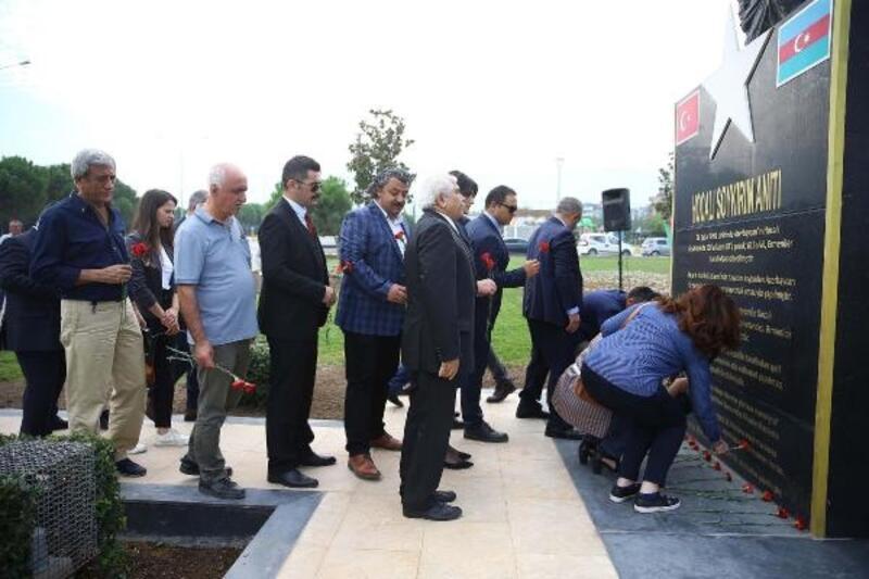 Denizli'de Hocalı Soykırımı'nda yaşamını yitirenler anıldı
