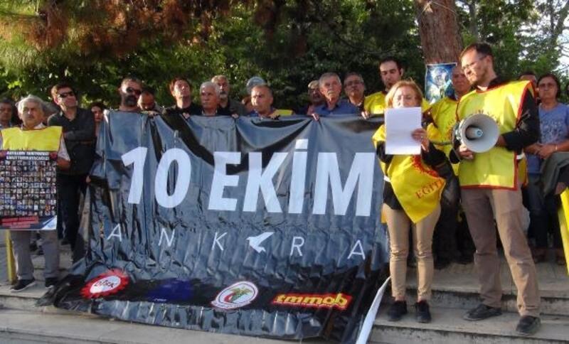 Ankara'daki saldırıda 103 kişi anıldı