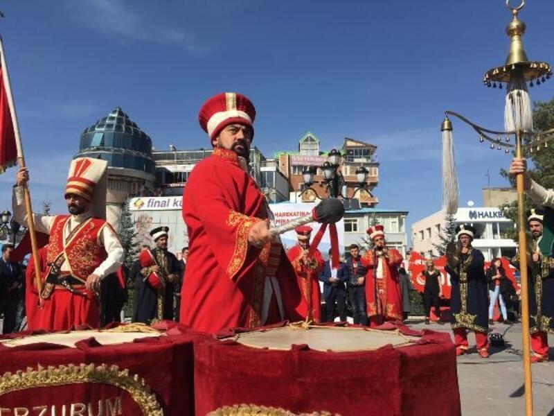 Erzurum'dan Barış Pınarı Harekatı'na katılan askerler için dua