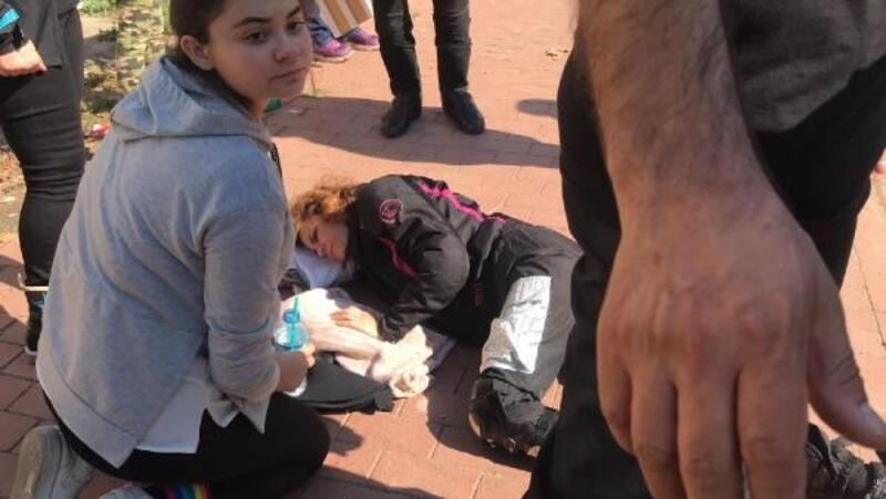 İznik'te motosiklet kazası: 1 yaralı