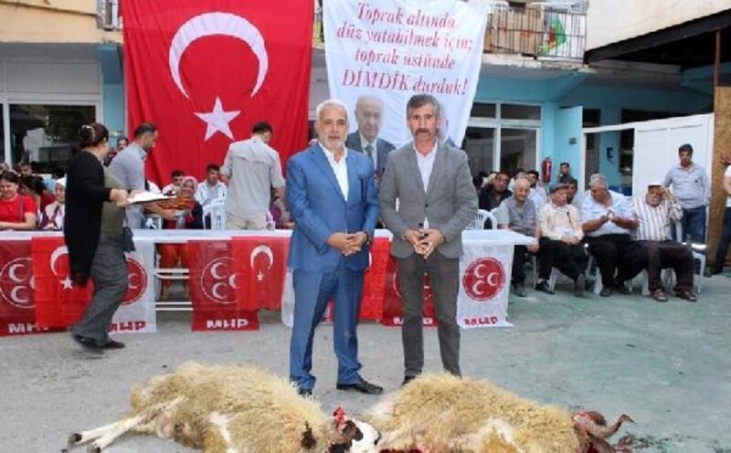 Feke'de Barış Pınarı Harekatı'na mevlit