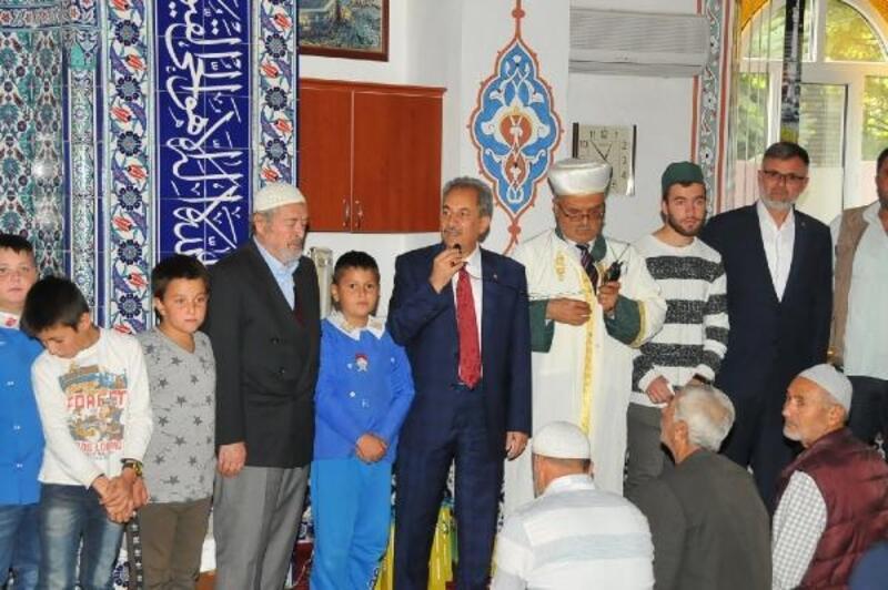 Camiye giden çocuklar ödüllendirildi
