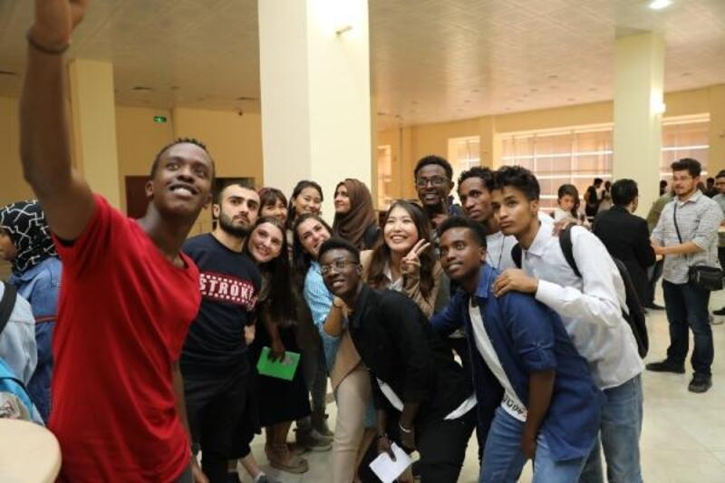 """Üniversitede """"Uluslararası Öğrenciler ile Buluşma"""" etkinliği gerçekleştirildi"""