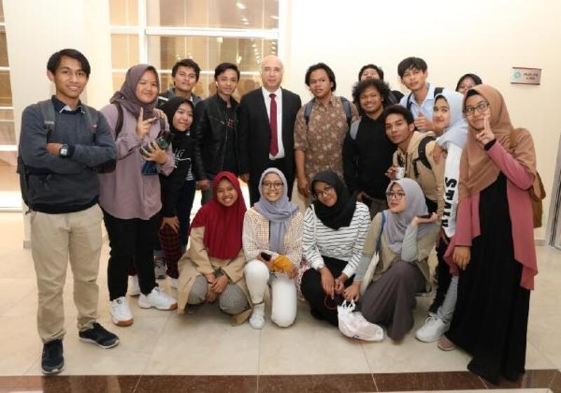 Niğde'de uluslararası öğrenciler ile buluşma etkinliği gerçekleştirildi