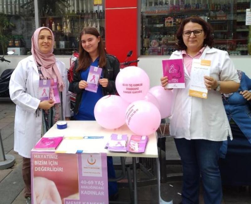 Alaşehirli kadınlara meme kanseri taraması