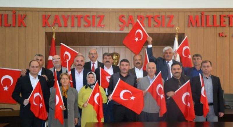 Dinar meclisinden Barış Pınarı'na tam destek