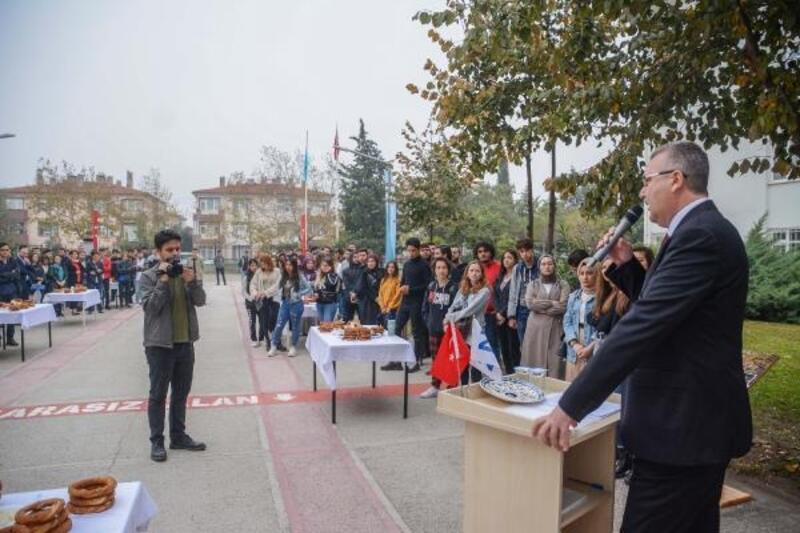 Başkan Özkan üniversite öğrencileriyle bir araya geldi