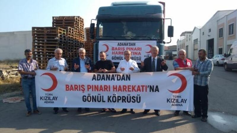 Barış Pınarı Harekatı'na anlamlı destek