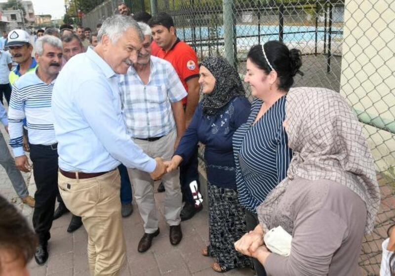 Başkan Karalar mahalle ziyaretlerini sürdürüyor