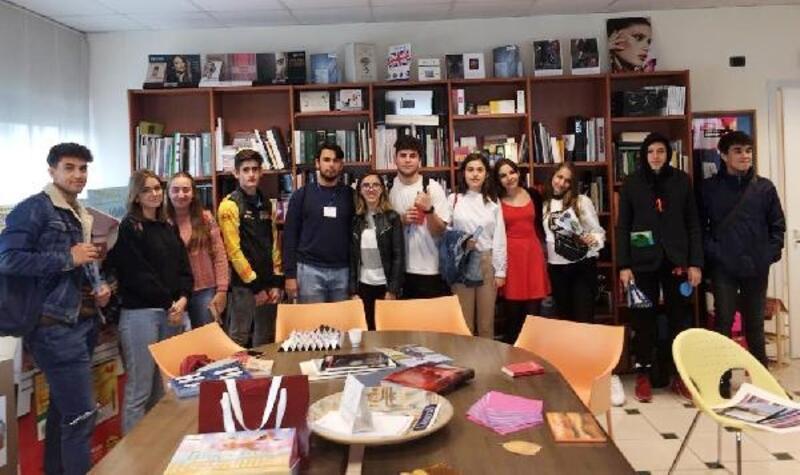 Burdurlu öğrenciler İtalya'da
