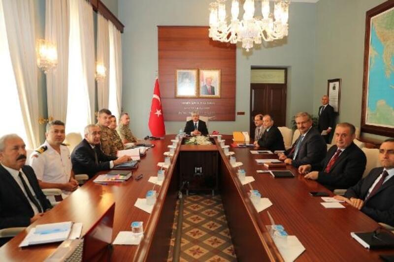 Hatay'da 'Üniversite Güvenlik Koordinasyon Toplantısı' yapıldı