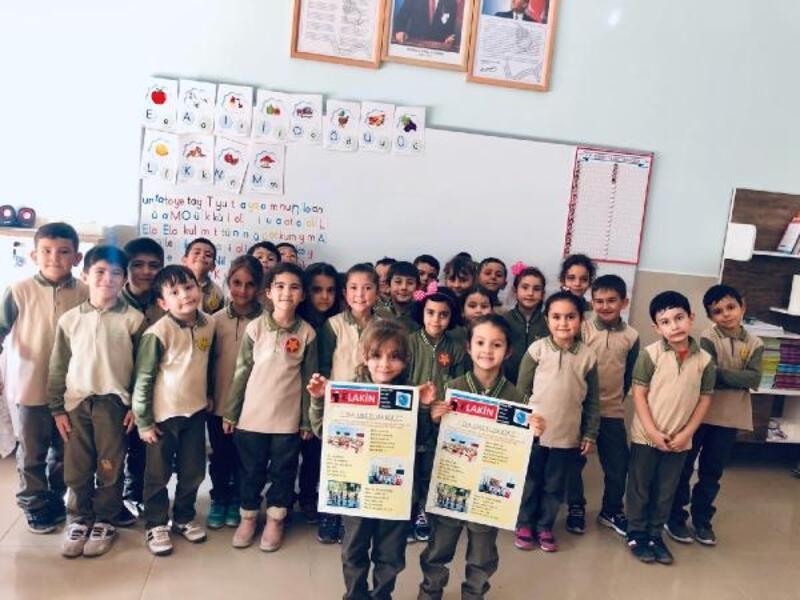 Öğrencilerin hazırladığı 'Sınıf Gazetesi' okuyucuları ile buluştu