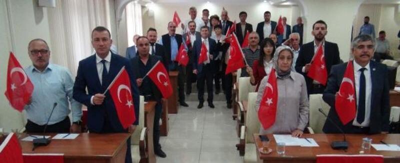 Burdur Meclisi'nden Barış Pınarı'na destek