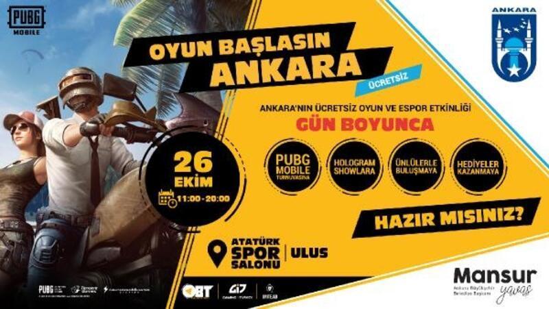Başkent'te 'Oyun Başlasın Türkiye-OBT'etkinliği