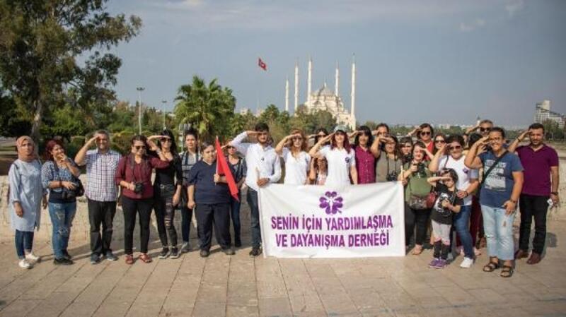 Senin İçin Yardımlaşma ve Dayanışma Derneği'nden Mehmetçiğe destek