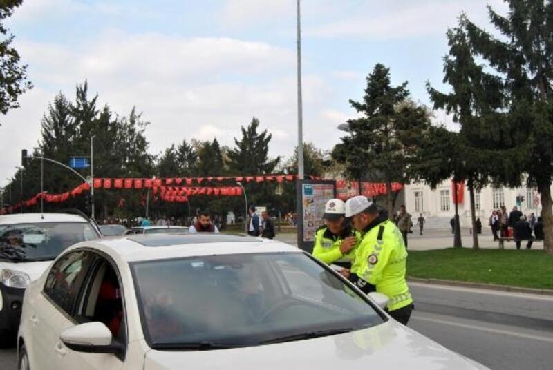Yaya önceliği denetimlerinde sürücülere ceza