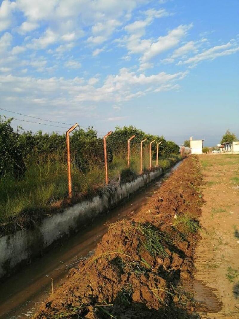 Sulama tesisleri ve kanallarına bakım