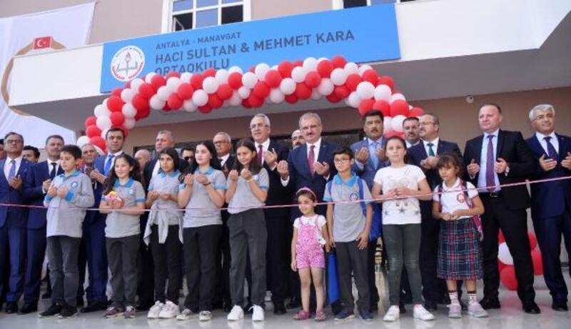 Vali Karaloğlu Manavgat'ta okul açılışı yaptı