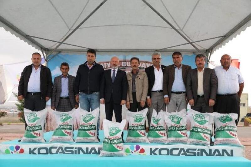 10 bin yıllık tohumlar Kocasinan'da filizlenecek