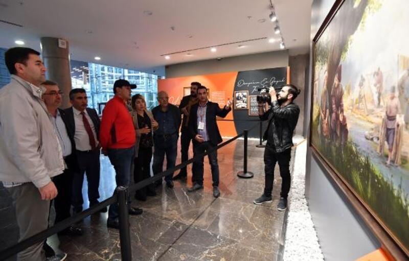 Panaroma 1326 Bursa Fetih Müzesi Özbek bakan yardımcısını ağırladı