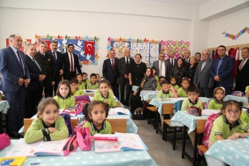 Vali Günaydın'dan Mehmet-Zeynep Akköse İlkokulu'na ziyaret