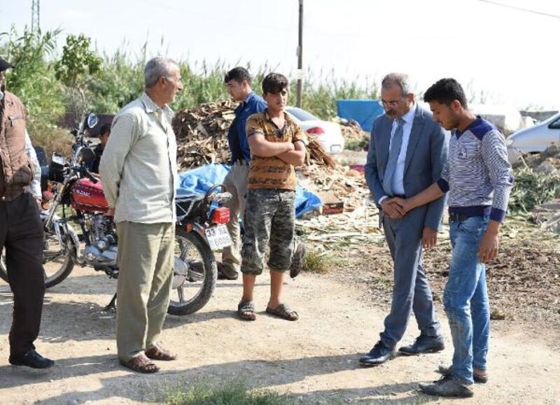 Başkan Bozdoğan, Suriyelilerin sorunlarını dinledi