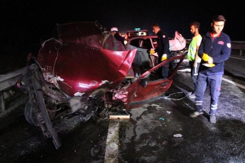Bolu'da zincirleme kaza: 3 ölü, 2 yaralı