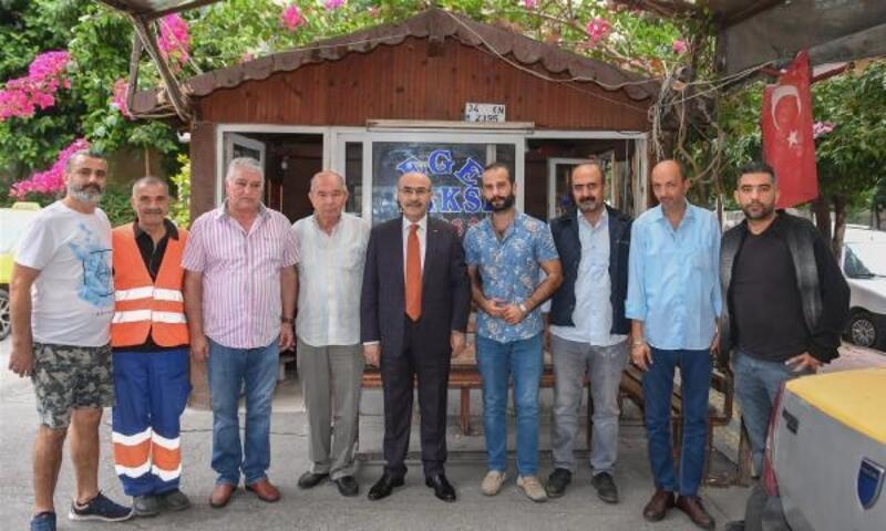 Vali Demirtaş'tan taksici esnafına ziyaret