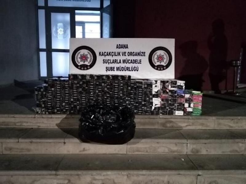 Otomobil koltuğundan 3 bin 550 paket kaçak sigara çıktı