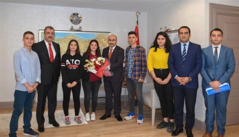 Çocuk Hakları Komitesi'nden ValiDemirtaş'a ziyaret
