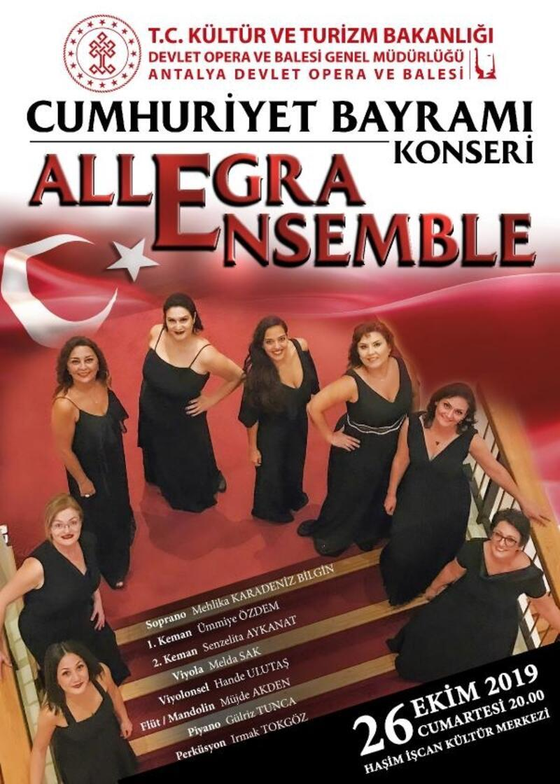Antalya DOB'dan Cumhuriyet konseri