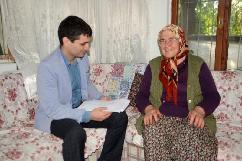 Yaşlı bireylerin evleri düzenleniyor