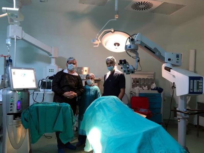 Finike'de katarakt ameliyatları başladı