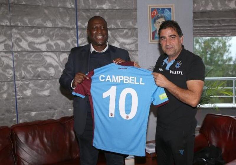 Kevin Campbell, yıllar sonra Trabzonspor tesislerinde