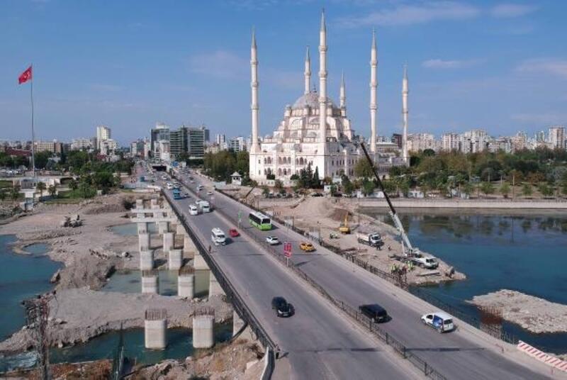 Girne Köprüsü'nde çalışmalar hızlandı