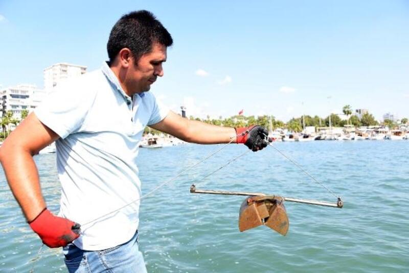 Mersin'de temiz deniz denetimi