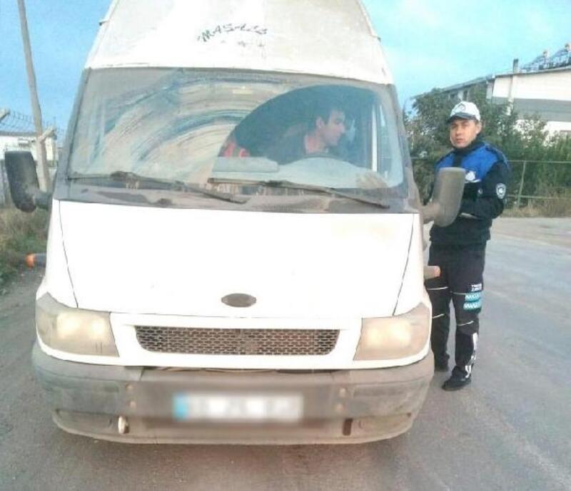 Manisa'da korsan taşımacılığa karşı denetim