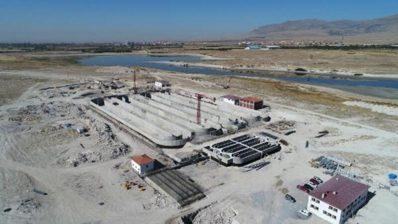 Başkan Özdemir: Biyolojik Arıtma Tesisi inşaatında çalışmalar sürüyor