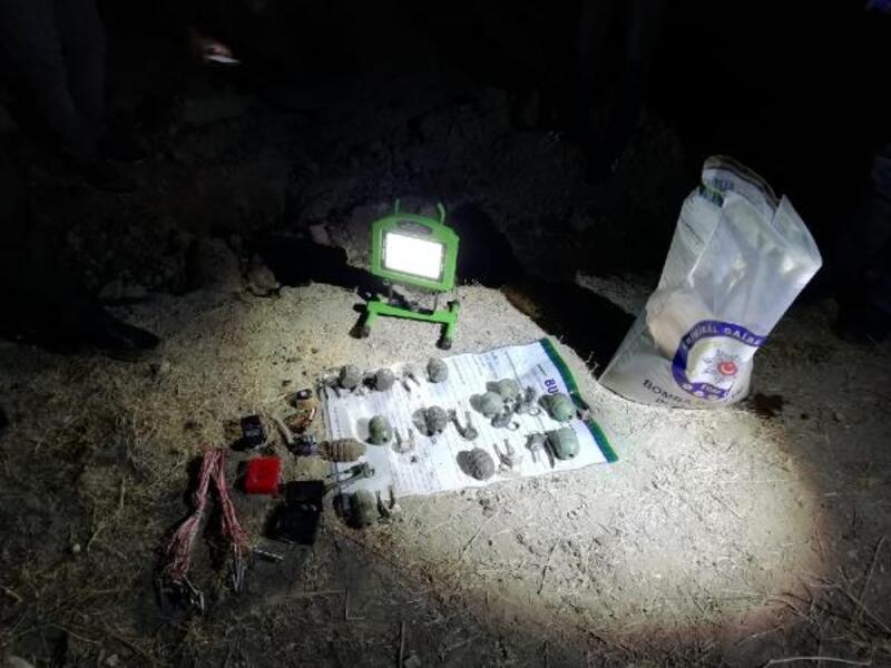 Van'da toprağa gömülü 13 kilo TNT patlayıcı bulundu