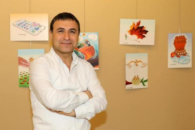 Prof. Dr. Dokgöz'ün Metafor karikatür kitabı yayınlandı
