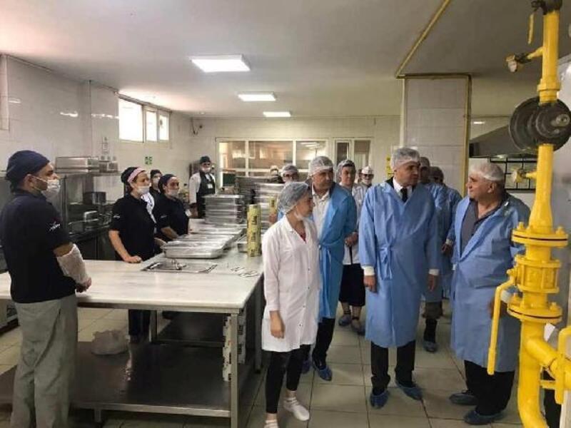 Afrin'e yemek hizmeti veren şirkette inceleme