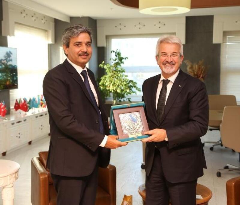 Hindistan Başkonsolosu'ndan Nilüfer'e işbirliği çağrısı