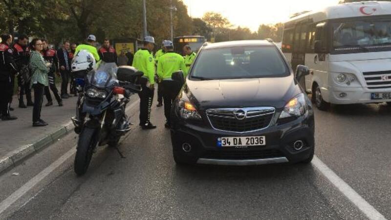 Anonsa giden Yunus ekibi kaza yaptı: 1 polis yaralı