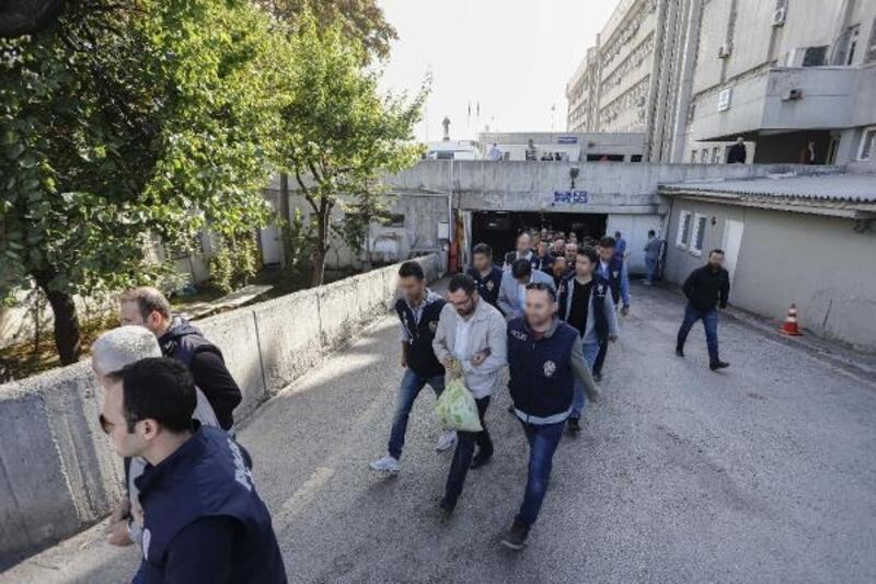 Ankara'da, 'ihale çetesi' şüphelileri adliyede