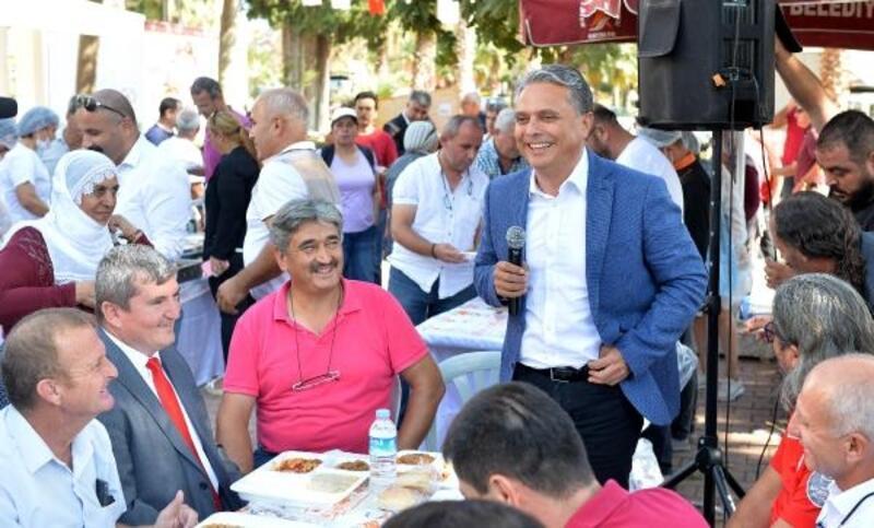 Başkan Uysal, keşkek gününe katıldı