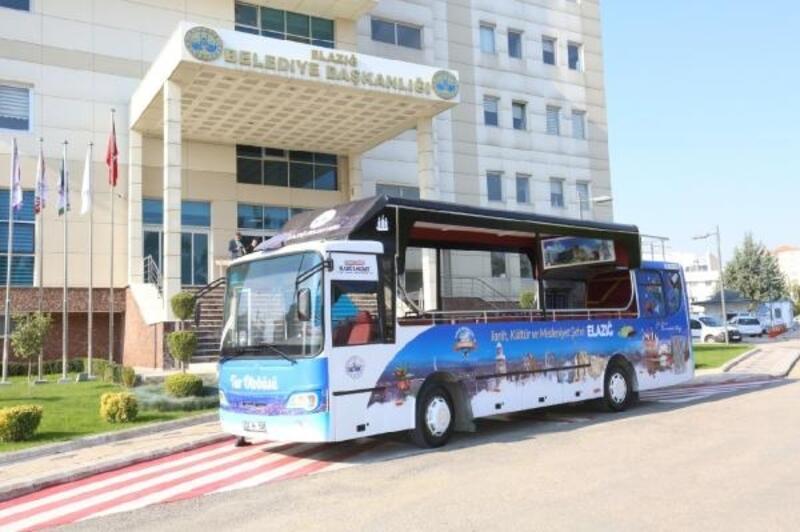 Elazığ'ın ilk tur otobüsü yollarda