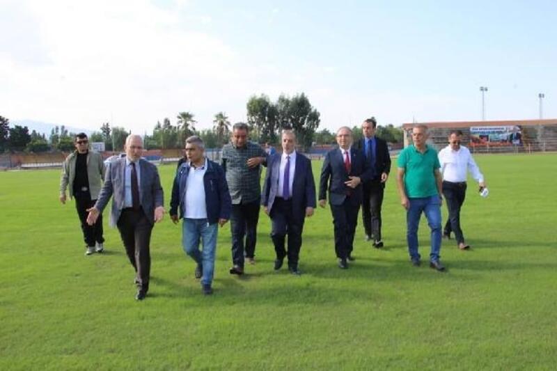 Gençlik ve Spor Bakanlığı heyeti, İskenderun'da incelemelerde bulundu