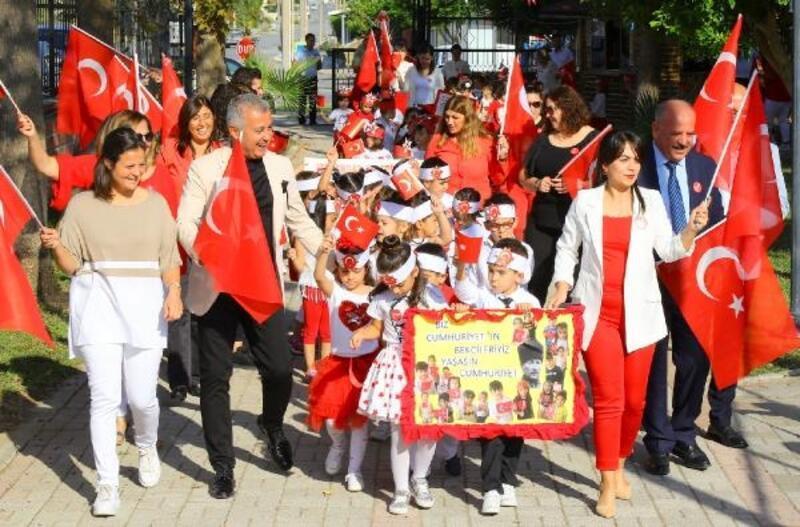 Manavgat'ta Cumhuriyet Bayramı coşkusu