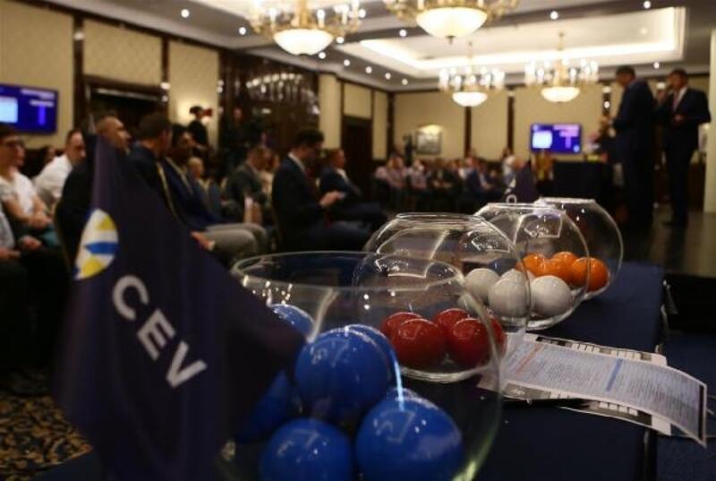 2020 CEV Şampiyonlar Ligi'ndeki rakipler belli oldu